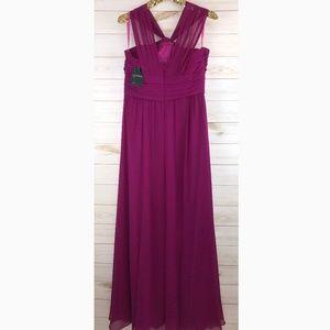 Ralph Lauren Dresses - ^*NWT Ralph Lauren Women's Sleeveless Ruched Gown